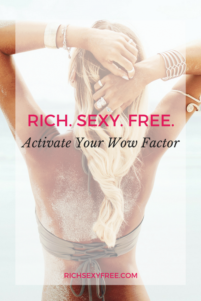 ActivateYourWowFactor+FeelInsanelyConfident