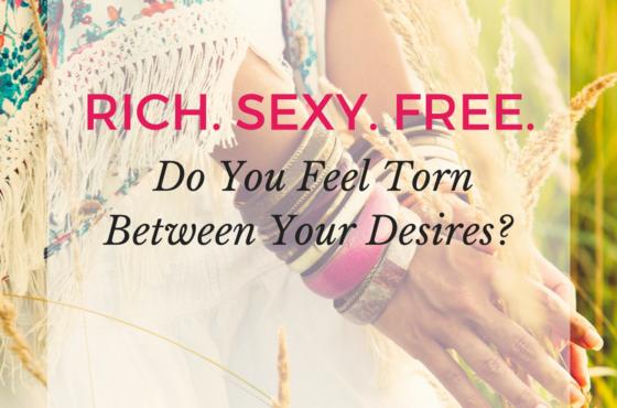 Do You Feel Torn Between Your Desires?
