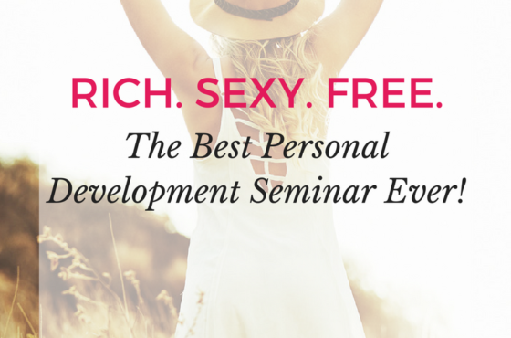 The Best Personal Development Seminar On The Planet!